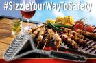 Marcangelo Foods Sizzle Your Way to Safety Contest