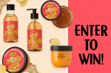 The Body Shop Ginger Collection Contest