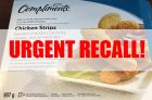 RECALL: Compliments Chicken Strips