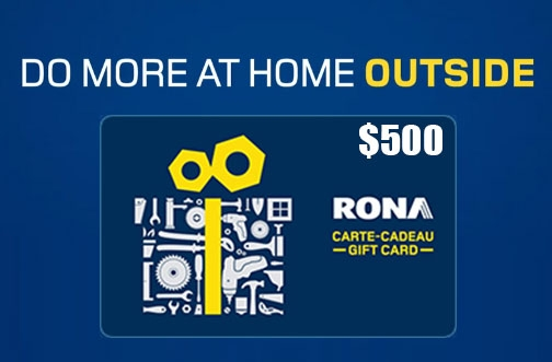 RONA Contest Canada | Do More Outside Contest