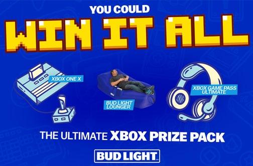 Bud Light XBOX Contest