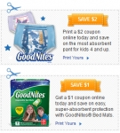 GoodNites – Pants & Bed Mats