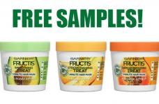 Free Garnier Fructis Hair Treats Mask Samples