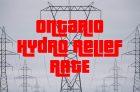Ontario COVID-19 Hydro Relief Rate