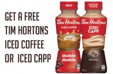 FREE Tims At Home Iced Coffee or Iced Capp