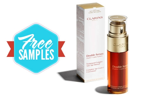 Free Clarins Double Serum Sample