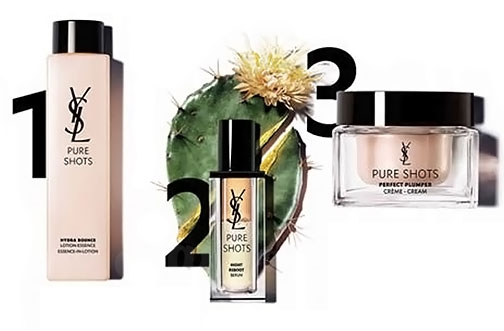 Free Yves Saint Laurent Sample | Pure Shots Routine