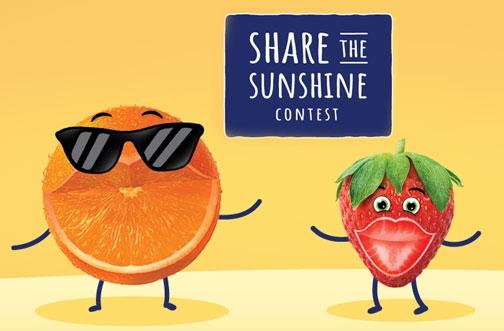 Sunkist Contest | Share The Sunshine Contest