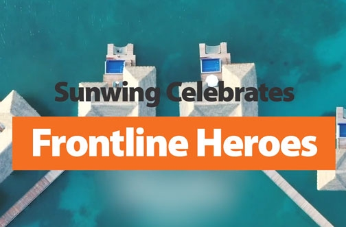 Sunwing Contest Canada | Celebrate Frontline Heroes