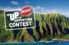 BOOST Be Up for Adventure Contest