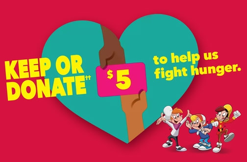 Kellogg's Promotions Canada   Keep or Donate Gift Card Offer