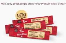 Free Tim Hortons Instant Coffee Samples