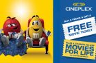 Mars & Cineplex Collect & Get Movie Promo Sweepstakes