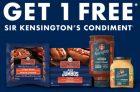 Schneiders Promotion   Get a Free Sir Kensington's Condiment