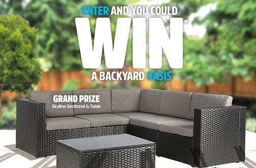 Mary Brown's Contest | Win a Backyard Oasis
