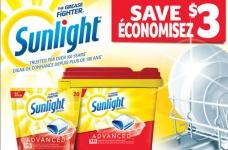 Sunlight Advanced Dishwasher Detergent Coupon