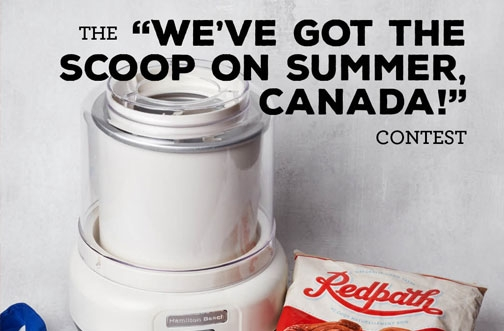 Redpath Contest | Scoop on Summer Contest
