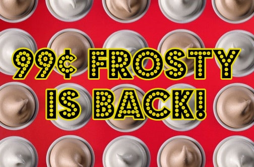 Wendys Coupons & Deals July 2020 + 99¢ Frosty is Back!
