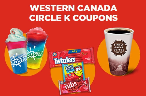 Circle K Western Canada Coupons | June/July 2020