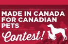 Nutrience Made in Canada for Canadian Pets Contest
