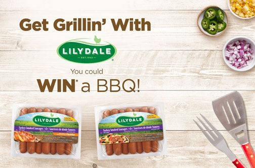 Lilydale Contest | Win a BBQ +  Exclusive Coupon