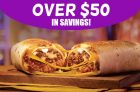 Taco Bell Coupon Canada | Over $50 in Savings!