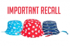 RECALL: Joe Fresh Toddler & Baby Sun Hats