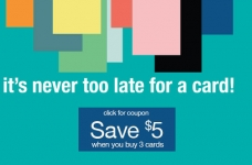 Carlton Cards Coupon | Save $5 Off