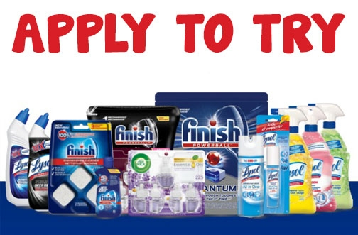 Shopper Army Missions | Lysol, Finish & Air Wick + Knorr Products