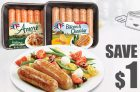 Olymel Coupon   European Sausages Coupon