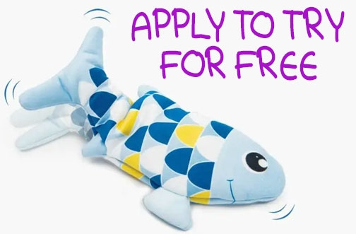 Catit Free Product Testing | Try Catit Groovy Fish Toy