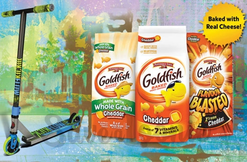 Goldfish Crackers Contest | Summer Scooter Contest