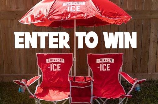 Smirnoff Contest Canada | Win a Backyard Setup