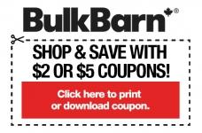 Bulk Barn $2 Or $5 Coupons