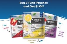 Ocean's Tuna Pouches Coupon