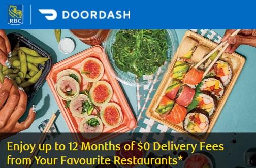 Free DoorDash DashPass for RBC Card Holders