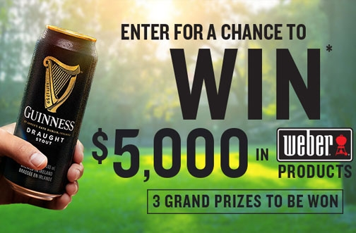 Weber Contest Canada | Win $5000 in Weber Products