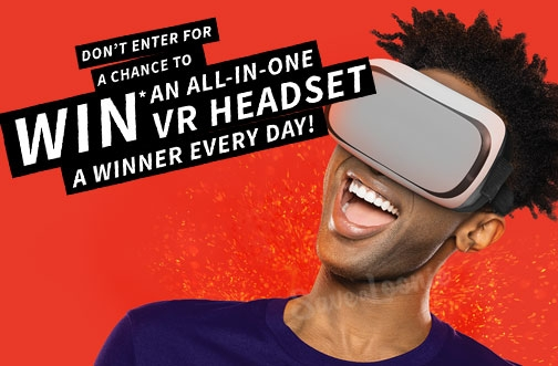 Takis Contest | Win an Oculus GO VR Headset