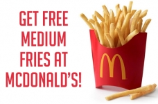 McDonald's National French Fry Day Offer