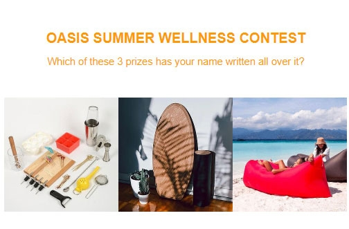 Oasis Contest | Summer Wellness Giveaway