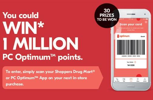 Shoppers Drug Mart Contest | Scan Your App Contest