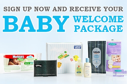 London Drugs Baby Welcome Package