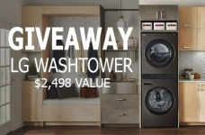 Leon's Contest | LG Washtower Giveaway