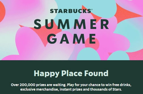 Starbucks Contest Canada | Summer Game 2021