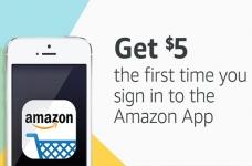 Amazon.ca App $5 Credit Offer
