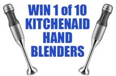 Win a KitchenAid 2-Speed Hand Blender!