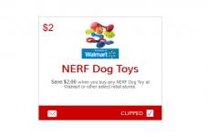 NERF Dog Toys Coupon