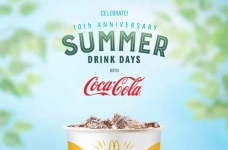 Coca-Cola & McDonald's Summer Drink Days Contest