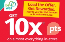 Rexall Be Well Rewards Coupons & Bonus Offers | 10X on EVERYTHING