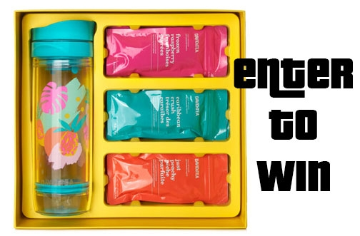 DAVIDsTEA Contest Canada | Iced Tea Travel Kit Contest + Self-Care Giveaway